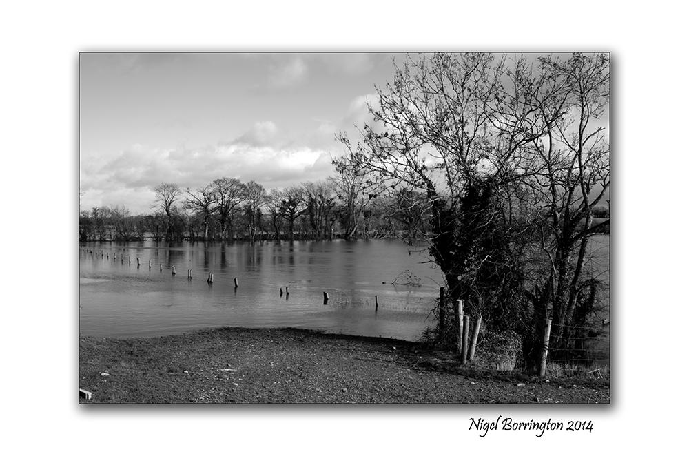 River Barrow KIlkenny in flood  Feb 2014 1