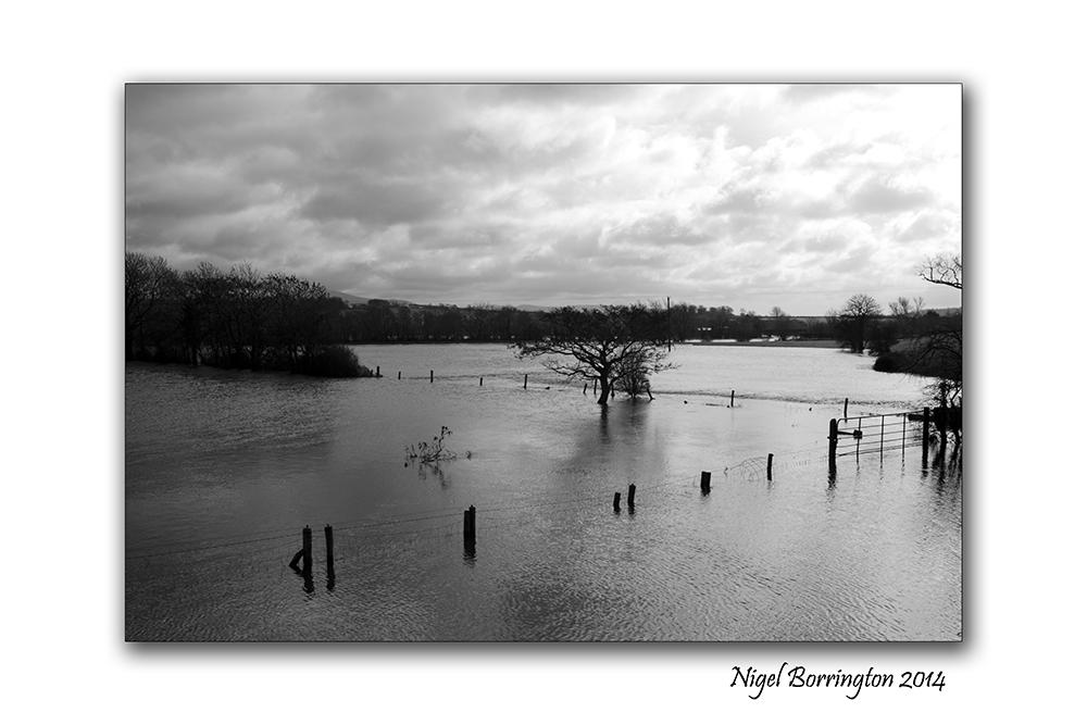River Barrow KIlkenny in flood  Feb 2014 2