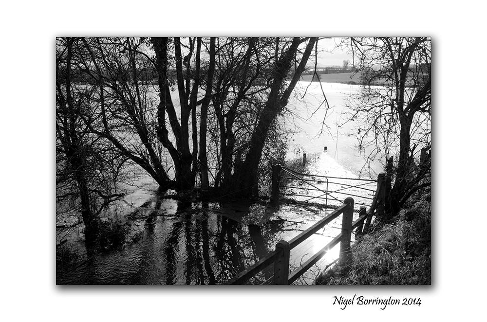 River Barrow KIlkenny in flood  Feb 2014 3