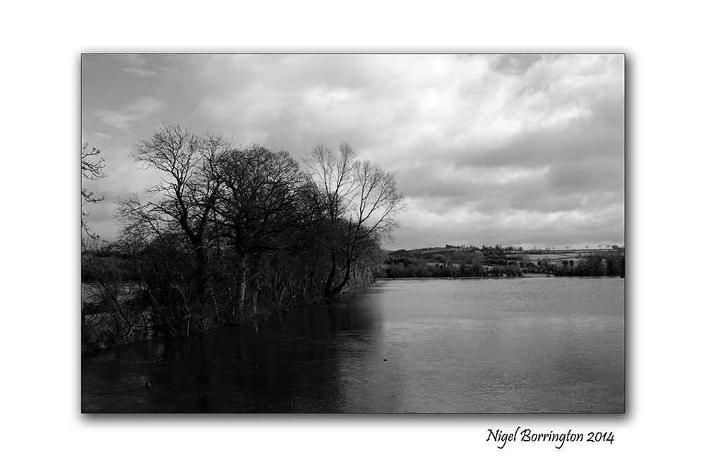 River Barrow KIlkenny in flood  Feb 2014 4