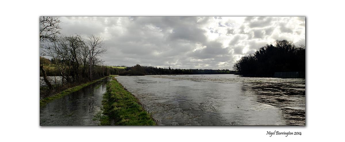 River Barrow KIlkenny in flood  Feb 2014 7