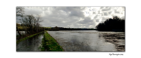 River Barrow KIlkenny in flood  Feb 2014 7
