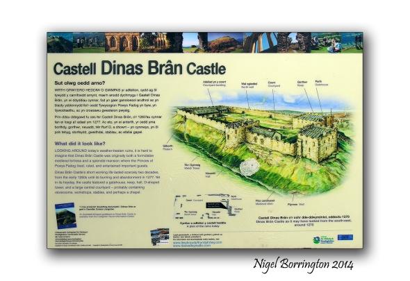 Castell Dinas Bran 1