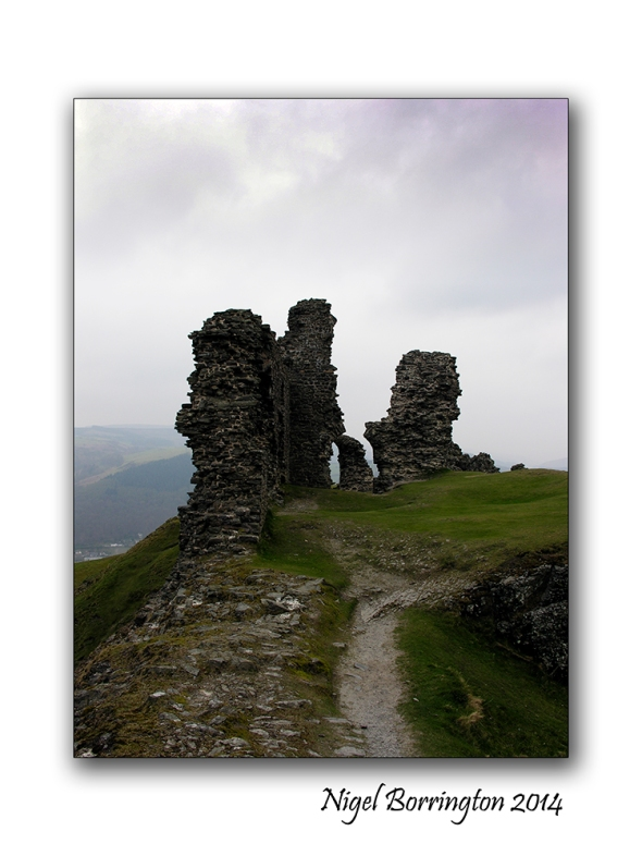 Castell Dinas Bran 4