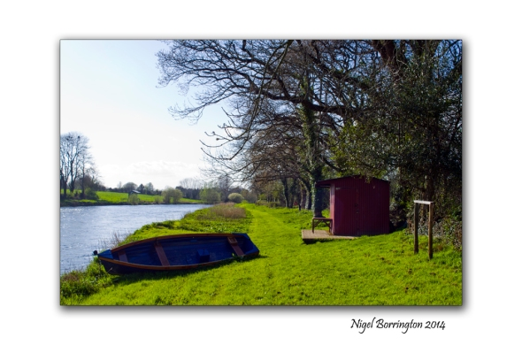 Hut beside the river suir 2