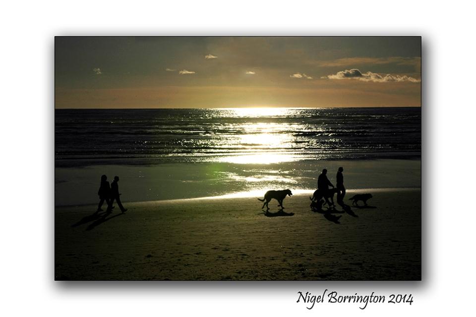 A beach walk at tramore