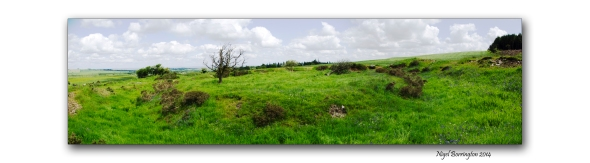 A ring fort in the KIlkenny hills 1