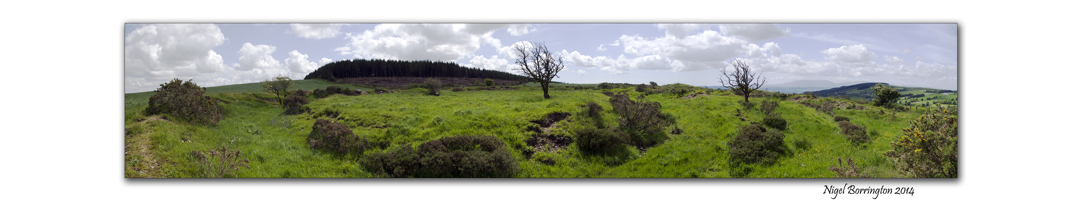 A ring fort in the KIlkenny hills 5