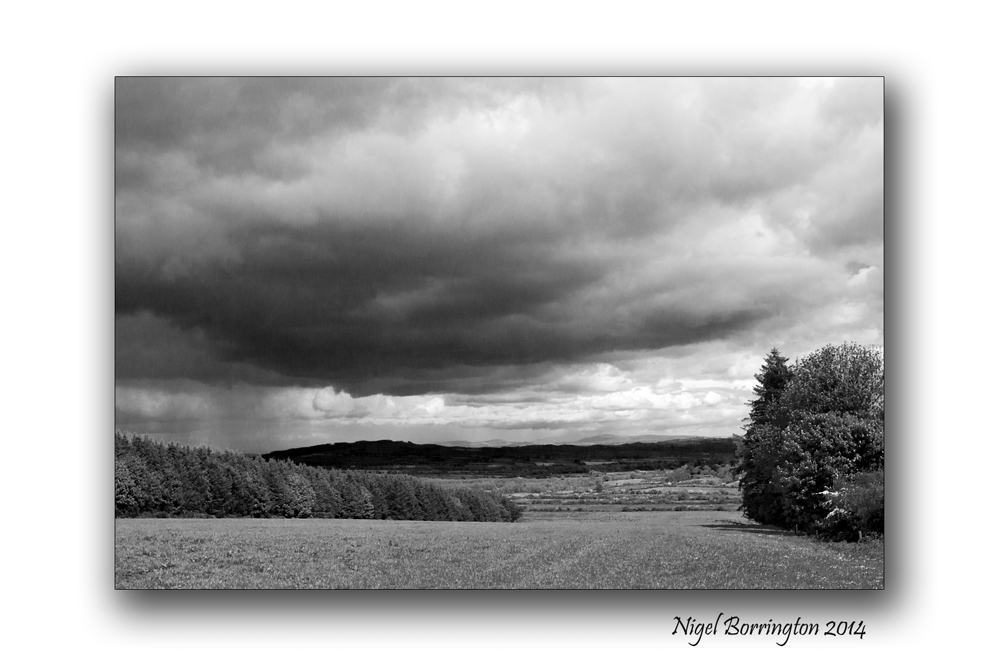 Black and white landscape 2