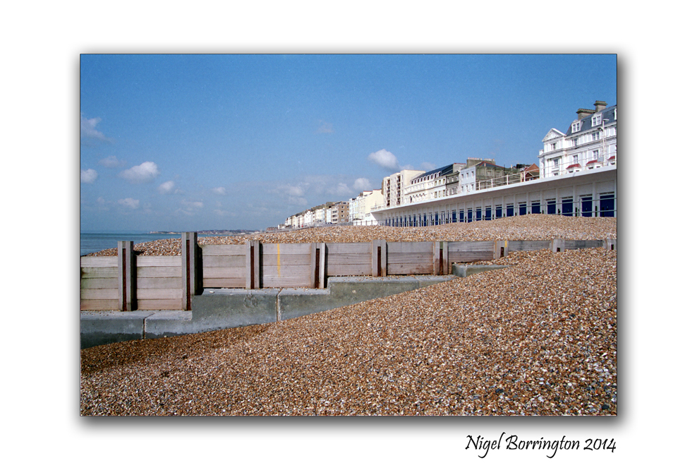 Hastings ,  county of East Sussex,  Landscape photography : Nigel Borrington