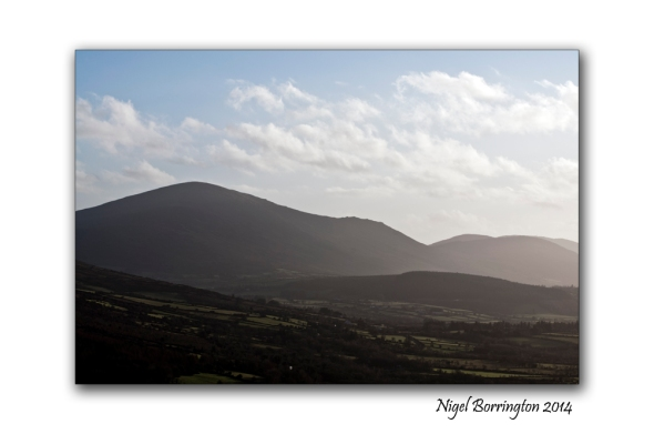 A view of the hills county carlow