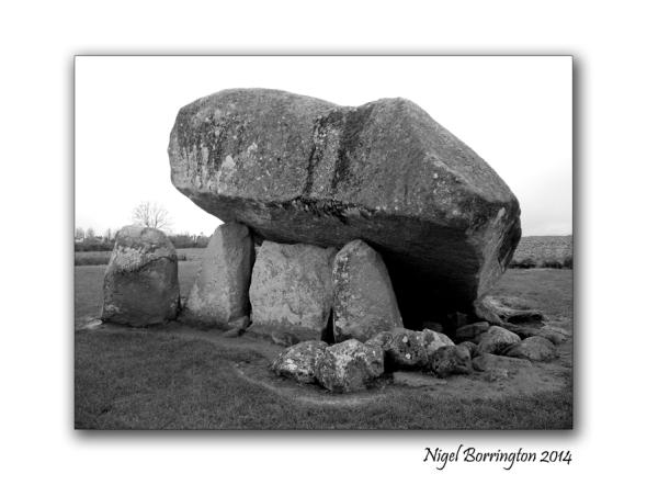 Brownshill Dolmen, county Carlow, Ireland. Irish photography : Nigel Borrington