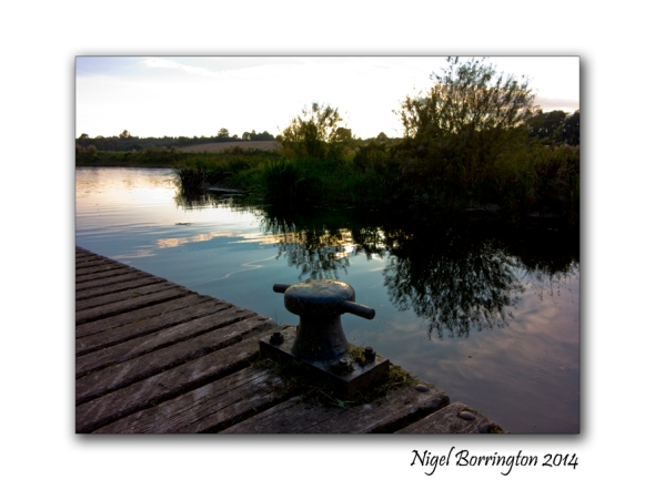 Golden hour on the river Barrow, County Kilkenny. Irish Landscape Photography : Nigel Borrington