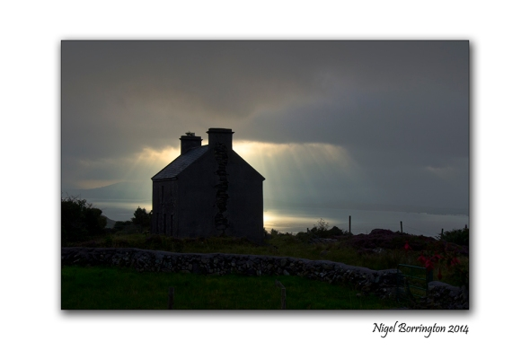Old house at Glengarrif,