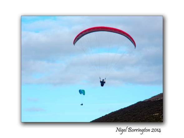 Parascending from Slievenamon 1