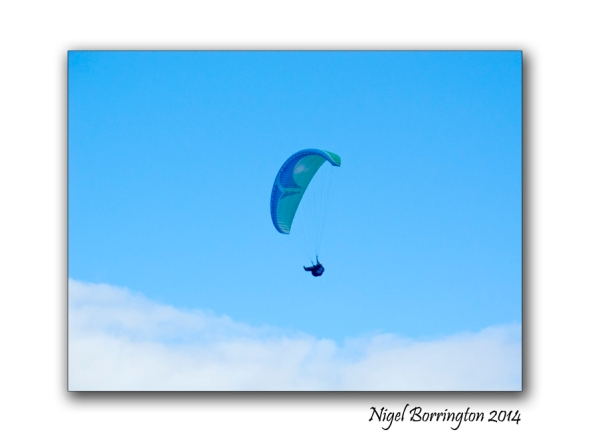Parascending from Slievenamon 2