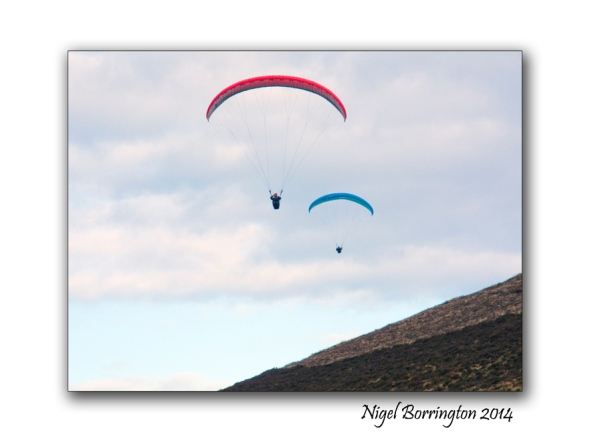 Parascending from Slievenamon 4