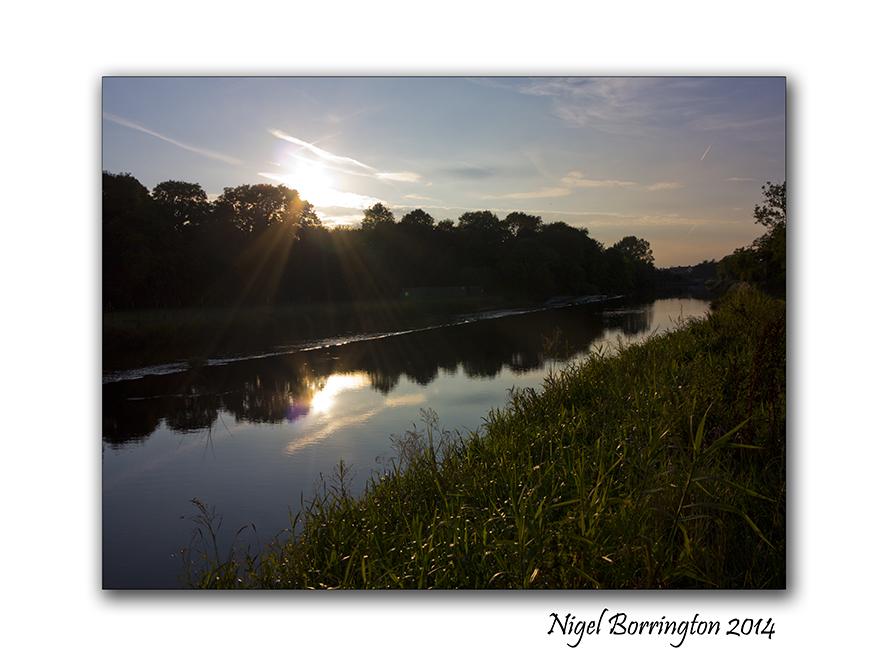 River Barrow, County Kilkenny. Landscape Photography : Nigel Borrington