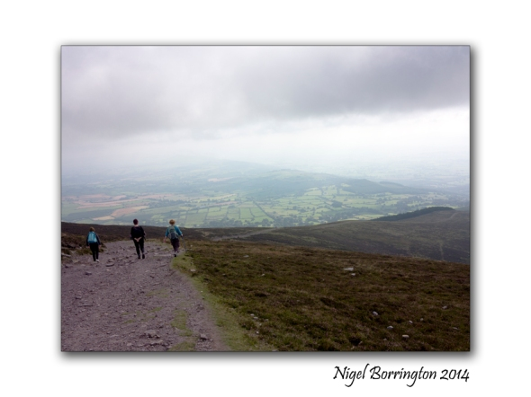 Walking on Slievenamon 05