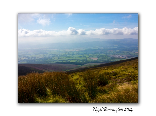 Walking on Slievenamon 06