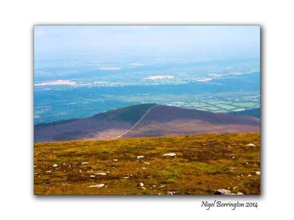 Walking on Slievenamon 08