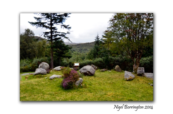 Bonane Stone circle and Alter for the Moon. Irish Landscape Photography : Nigel Borrington