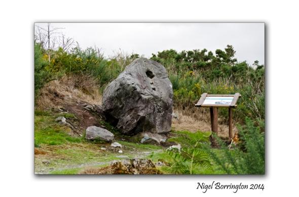 Bullaun Stone – Bonane Heritage park , county Kerry Irish landscape Photography : Nigel Borrington