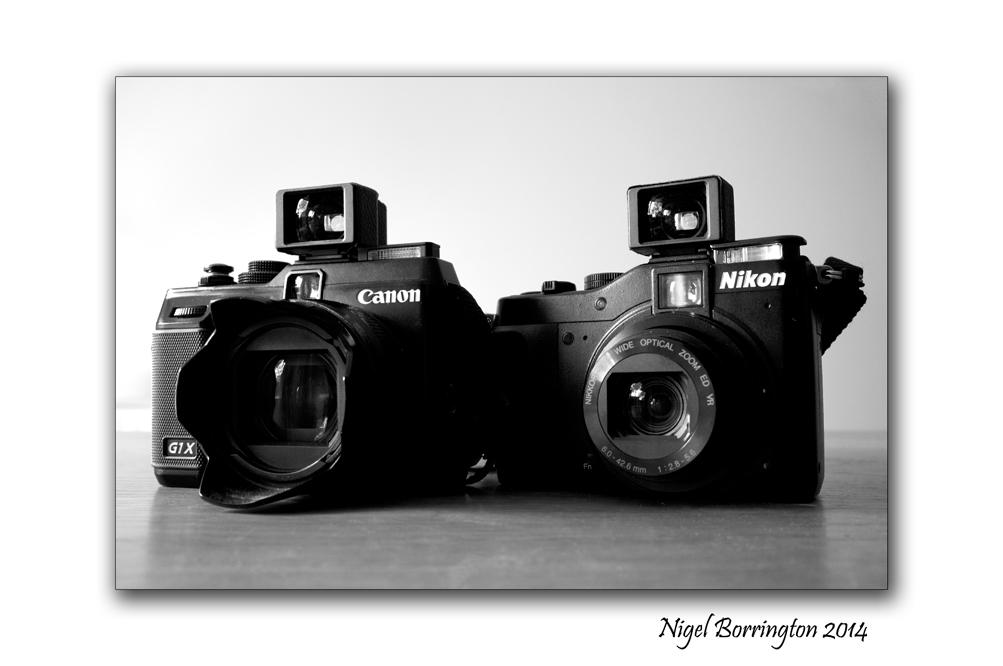 Canon G1x and Nikon P7000
