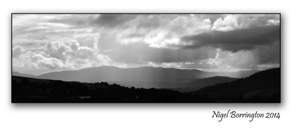 Suir valley from Tullahought - Kilkenny landscape photography : Nigel Borrington