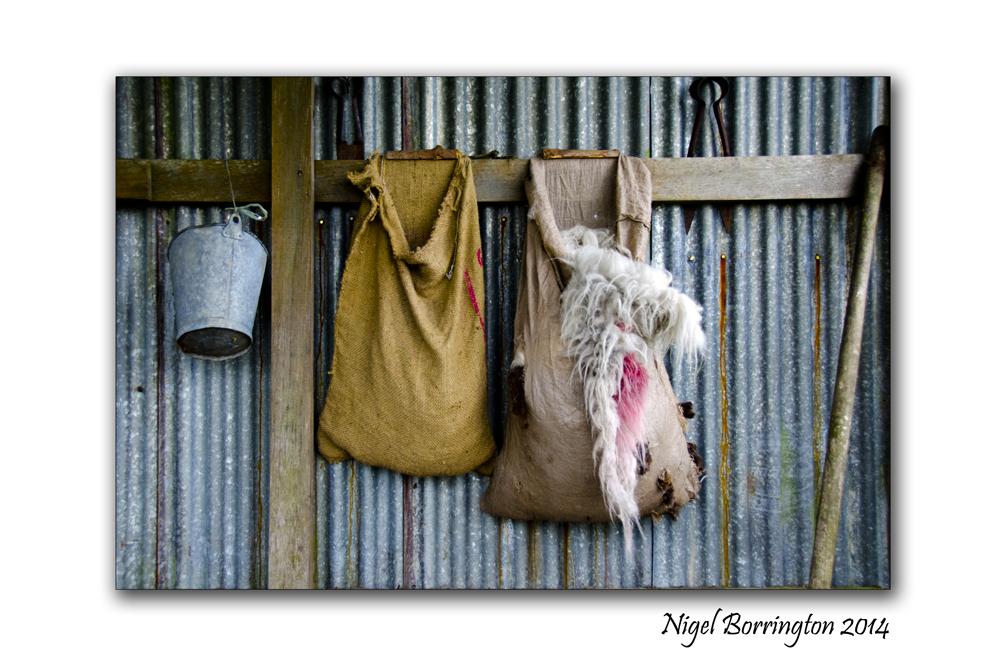 The Sheep Shearing Shed, Country Kerry, Irish Photography : Nigel Borrington