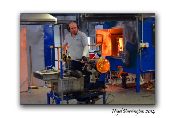 Waterford Crystal Glass blower 2