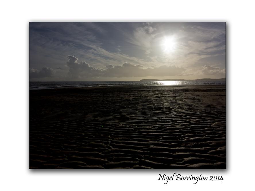 A walk on Duncannon beach 2014