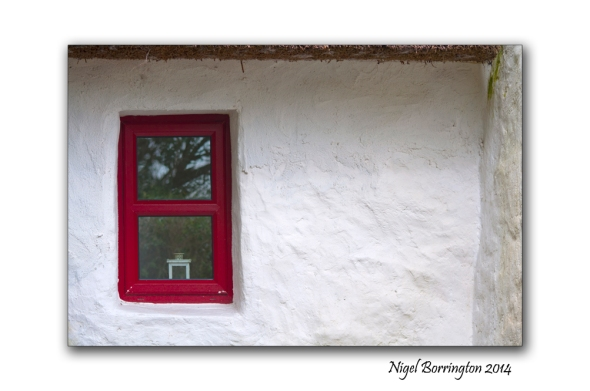 Irish cottage window