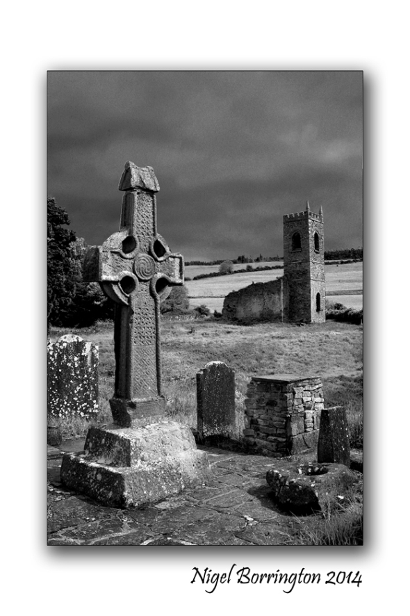 Killamery High cross Nov 2014 Kilkenny landscape Photography : Nigel Borrington