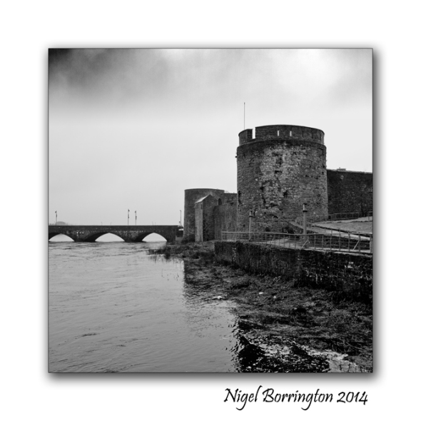 King Johns Castle, Limerick, Ireland. Irish landscape Photography : Nigel Borrington