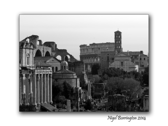 A sense of place, Old Rome. Photography : Nigel Borrington