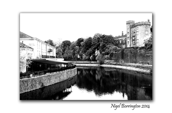River court kilkenny 7 black and white high key
