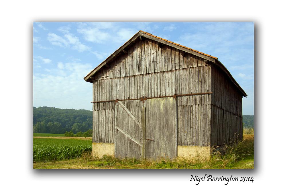 The Barn  Landscape Photography : Nigel Borrington