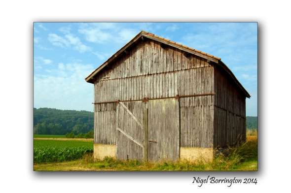 The Barn  Landscape Photography : Nigel Borrington