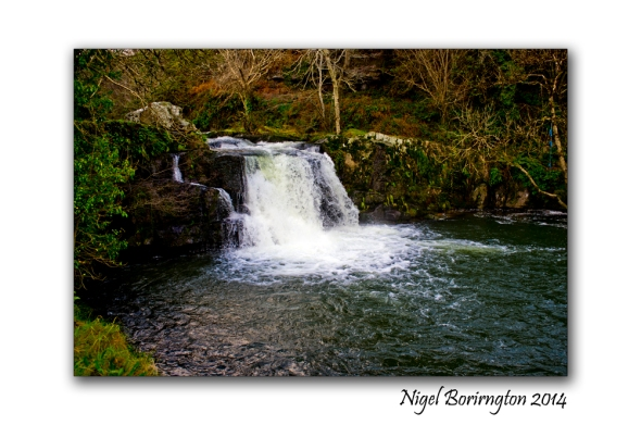 River Pollanassa Waterfall Mullinavat County Kilkenny Irish Landscape Photography : Nigel Borrington