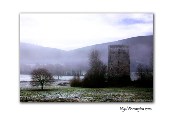 Frosty Castle along the river Suir County Tipperary Landscape Photography : Nigel Borrington