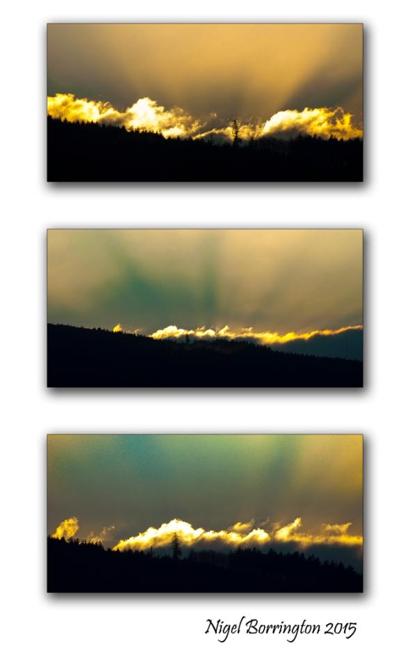 The Light from over the hill  Kilkenny Landscape Photography : Nigel Borrington