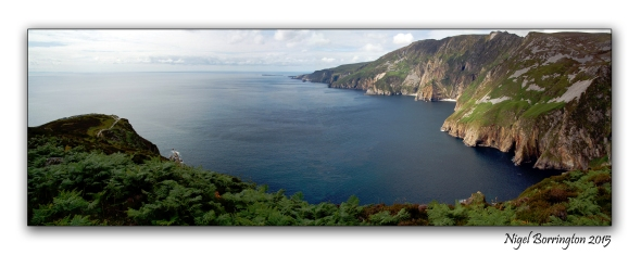 Slieve League  Coastline County Donegal Irish Landscape Photography : Nigel Borrington