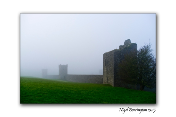 KIlkenny Landscape Photography kells priory in the mist 1