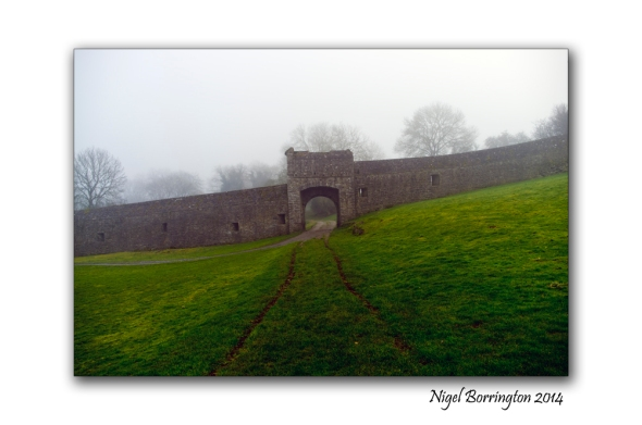 KIlkenny Landscape Photography kells priory in the mist 7