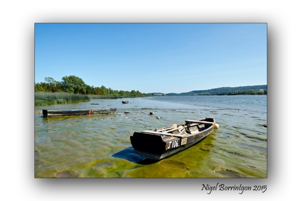 Fishing boats on teh River Suir Irish Landscape Photography : Nigel Borrington
