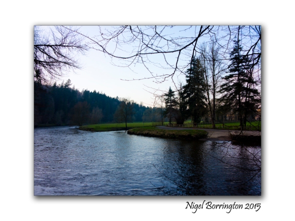 The River Nore, County Kilkenny, located below the Ice House. Nigel Borrington