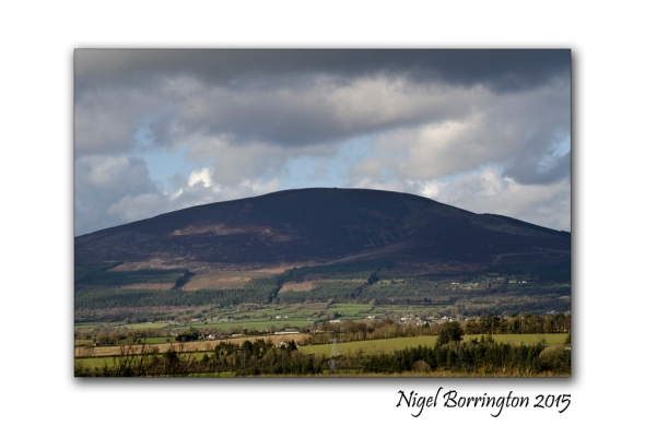 Slievenamon mountain view