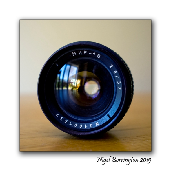 Mir 1b 37mm f2.8 m42 lens Nigel Borrington