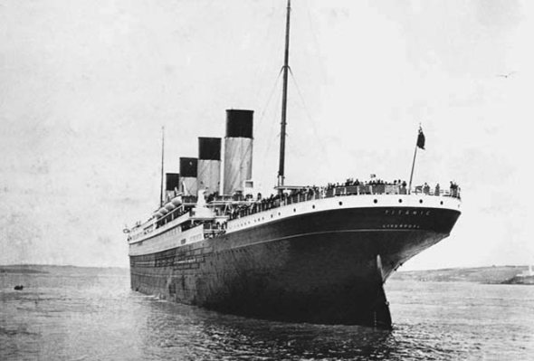 Francis Browne's pictures of the Titanic April 14th 1912